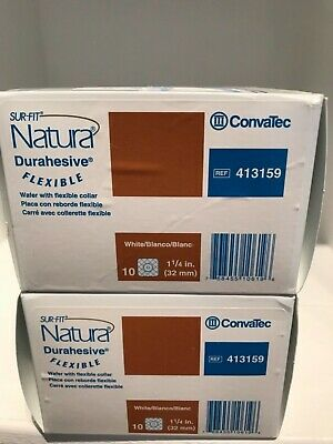 Lot Of 2 Convatec 413159 Sur-Fit Natura Durahesive Flexible Collar