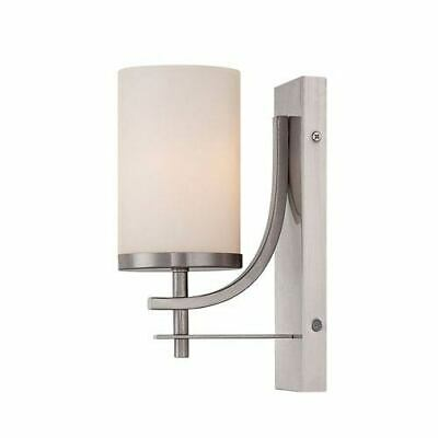 Savoy House Colton Nickel and Pewter One-Light Wall Sconce - 9-337-1-SN