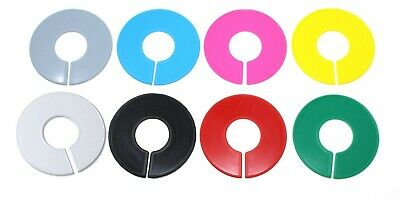 Blank Round Plastic Rack Dividers BULK Pick a Color/Pick a Quantity 10 TO 200 PK