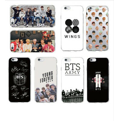 BTS Bangtan Boys Army Cover Soft Phone Case For iPhone Samsung