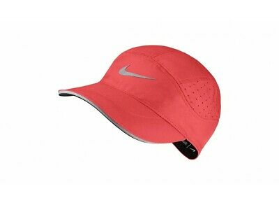new arrival af302 e85dd Nike Unisex Tailwind Aerobill Running Hat-Ember Glow Silver 828617-602