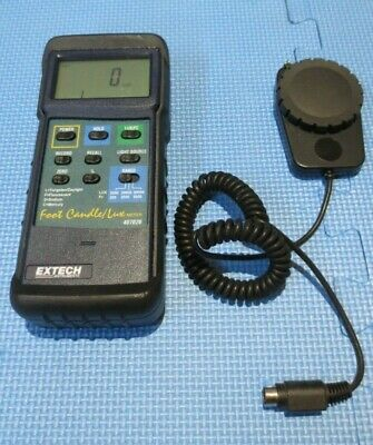 Extech 407026,Heavy Duty Light Meter with PC Interface