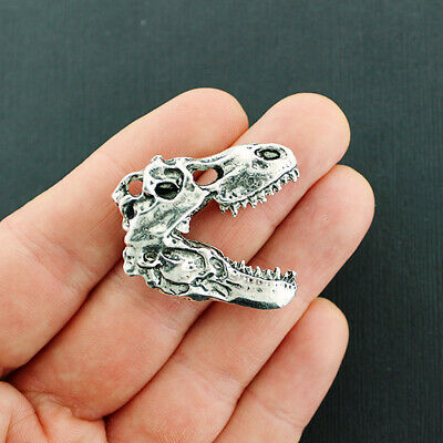 SC4430 BULK 50 Number 8 Charms Antique Silver Tone Number Eight Charms