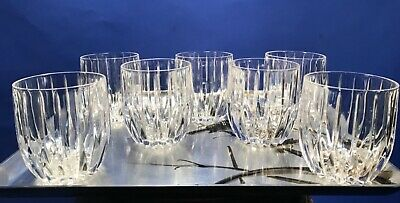 Set of 7 Executive Double Old Fashioned Park Lane by MIKASA, excellent condition