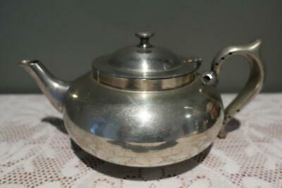 Vintage Challenge Silver Plated Robur Perfect Teapot With Infuser - Reas Cond