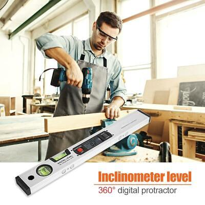 0~360° Digital Inclinometer Protractor LCD Spirit Level Angle Finder Gauge Meter