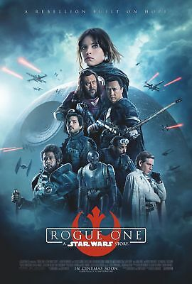 *Rare* Rogue One | original DS movie poster 27x40 INTL | Star Wars MINT