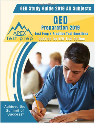 GED Study Guide 2019 All Subjects: GED Preparation Test Prep & Practice Test Q