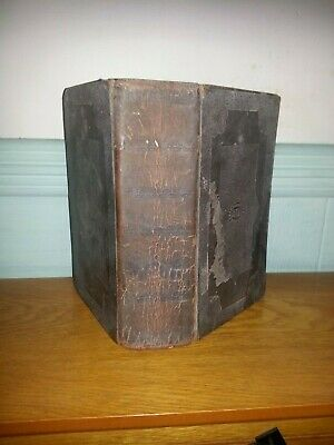 The Holy Bible Dated 1832 Hardback Old New Testament Religion And Spirituality
