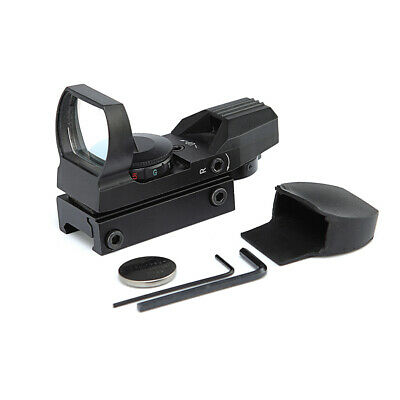 Tactical Riflescope Hunting Holographic Red Green Dot Sight Reflex 4 Reticle