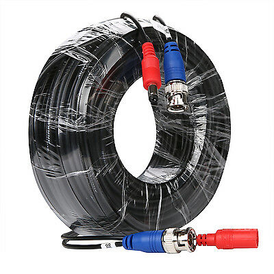 ANNKE 30M 100ft HD CCTV BNC DC Video Cable Power Wire For Security Camera DVR