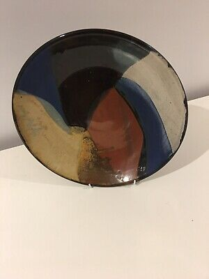 Handmade Ceramic Platter Or Decor Art