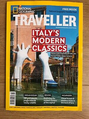 National Geographic Traveller June 2019 Issue With Free NGT FOOD ISSUE 5