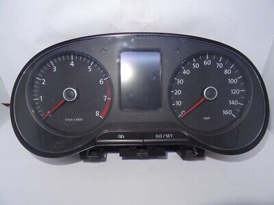 VW POLO 6R Instrument Cluster Speedometer Petrol Mp/H 6R0920960E