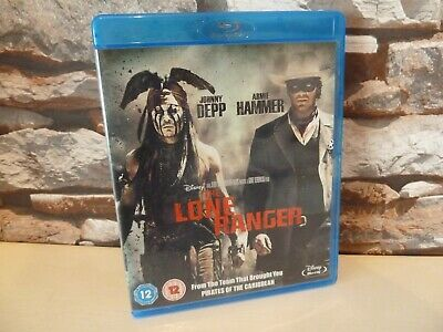 Disney The Lone Ranger Blu Ray - Fast/Free Posting.