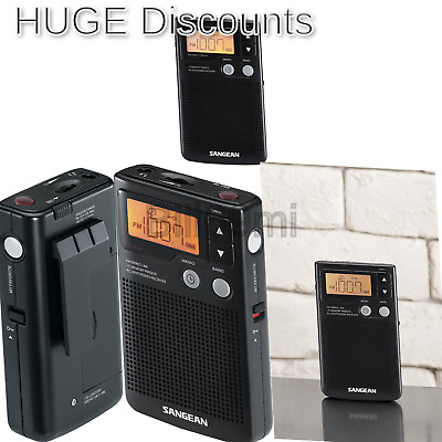 Sangean DT-200X FM-Stereo//AM Digital Tuning Pocket Radio