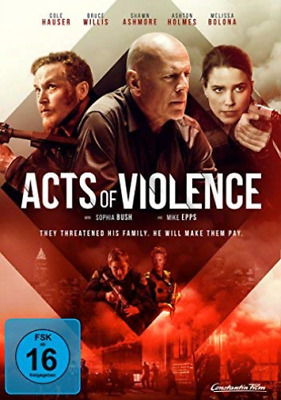 Acts Of Violence - (German Import) (Uk Import) Dvd [Region 2] New