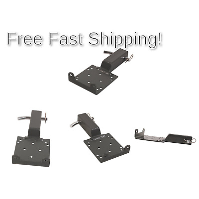"Extreme Max 5600.3084 Universal 2/"" Receiver Hitch Winch Mount for ATV UTV"