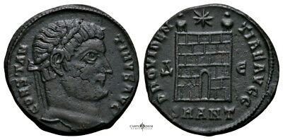 CONSTANTINE THE GREAT (330 AD) Rare Follis. Antioch #RA 2336