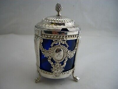 EARLY FRENCH silver MUSTARD POT - 1782 - Paris - Great collectable