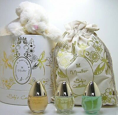 M. Micallef Baby s Collection Petit Fleur 3 x 30 ml EDP Spray SET alcohol free
