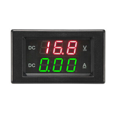 DC0-100V 10A Digital Voltmeter Ammeter Current Volt Dual Display Panel NEW BI899