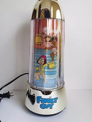 Family Guy Revolving Electric Light -Up Motion Lamp Working/Tested