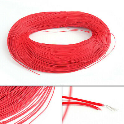 UL-1007 20AWG Cable Stranded Flexible Hookup Wire Cord Electric Line Red 3-5M
