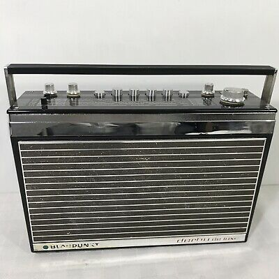 Blaupunkt Derby De Luxe Picnic Transistor Radio Made In Germany