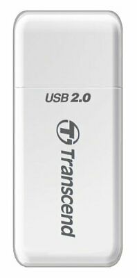 Transcend P5 9-in-1 USB 2.0 Flash Memory Card Reader TS-RDP5W (WHITE)