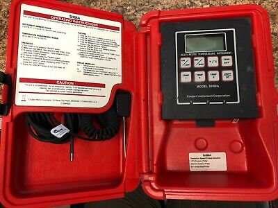 COOPER - SH66A - Thermometer - Digital Temperature Instrument - (Used)