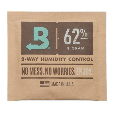 Boveda 8-Gram Humidity Pack (62% RH, Single Unit)