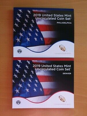 2019 US Uncirculated Coin Set P+D.