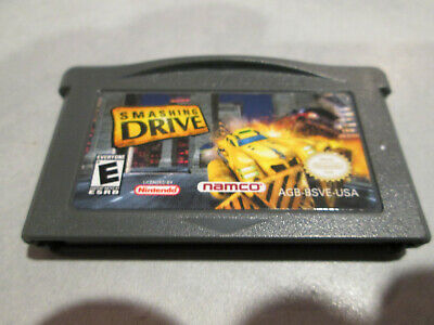 Smashing Drive Game Boy Advance GBA Original Authentic DS Lite Racing Game