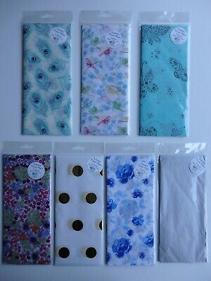 3 Sheets Luxury Tissue Paper 50 x 70cm (approx) (Choice of 6)