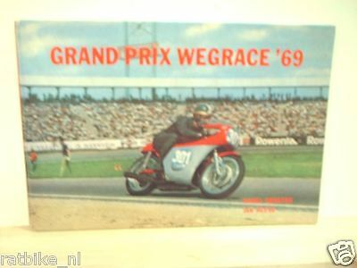 1969 Grand Prix Wegrace 69 Uitgave Peters Roadrace Rennstrecke Machinen