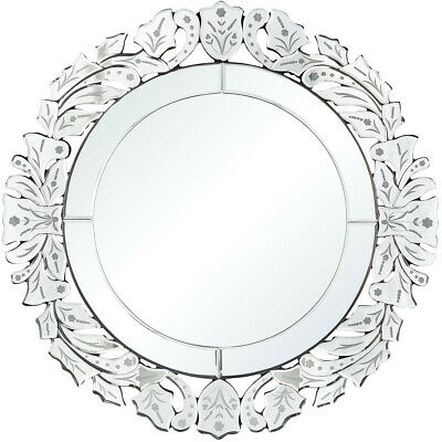 Sterling Industries 1226-002 Cremona 28 X 28 inch Mirror Wall Mirror, Round