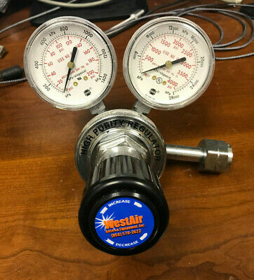 MSI Gases HPT270D High Purity Pressure Regulator w// Gauges 0782-0021