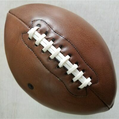 NEW Outdoor Sport Rugby Ball American Football Vintage PU Size 9 College