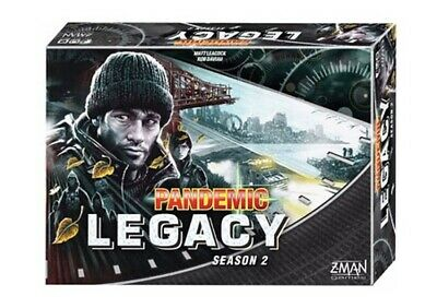 1x  Pandemic: Legacy: Season 2: Black Edition: 2017 Edition
