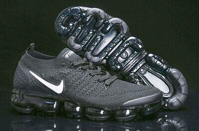 NIKE AIR VaporMax Flyknit 2.0 2018  MEN?black? and ?black?Running Trainers Shoe