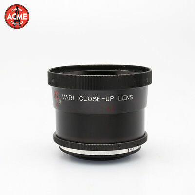 HCE VARI-Close-Up Lens Series 7 with Series 6 adapter Screw On