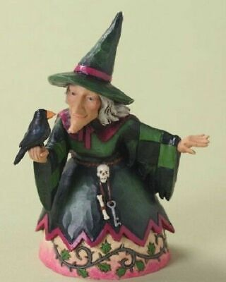 JIM SHORE HALLOWEEN HEARTWOOD CREEK PINT SIZED WITCH 4027795 WITCHING HOUR nib