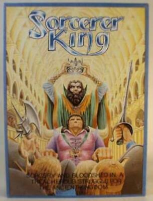Wotan Boardgame Sorcerer King (2nd Edition) Box SW