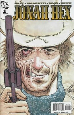 Jonah Hex (2nd Series) 1A 2006 fan Variant VF Stock Image