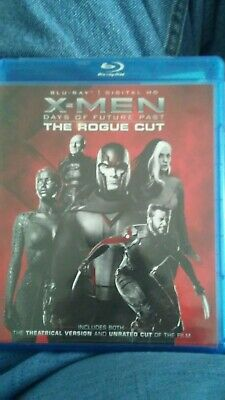 X-Men DAYS OF FUTURE PAST The Extended Rogue Cut Blu-ray 2 Disc Set