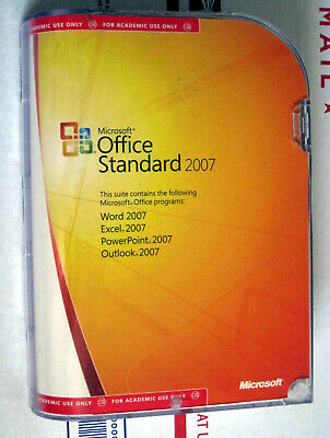 MICROSOFT OFFICE 2007 Standard Upgrade Version w/ Product Key Number