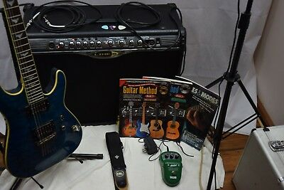 Amplifier/Guitar Complete Package, Schecter, Line 6 Twin~PACKAGE~SUPER-DEAL.~
