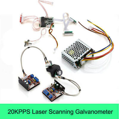 Faster Shipping 30kpps Laser Galvo Galvanometer Based Optical Scanner 30k Laser Scanners including Show Card