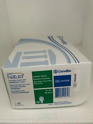 Convatec 411310 Sur-Fit Natura Drainable Pouch W/Invisiclose Outlet